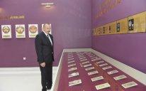Prezident Biləsuvarda Bayraq Muzeyinin açılışında iştirak edib
