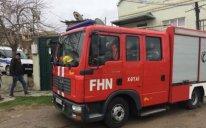 Xətai rayonunda güclü yanğın başlayıb - VİDEO