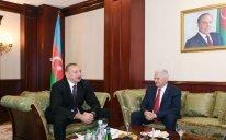 Prezident İlham Əliyev Binəli Yıldırımla görüşüb – FOTO