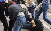 Sumqayıtda kütləvi dava: iki nəfər bıçaqlandı
