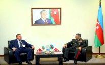 Zakir Həsənov Bolqarıstanın müdafiə naziri ilə görüşüb