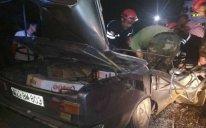 Bərdədə ağır yol qəzası: 4 nəfər öldü - FOTO