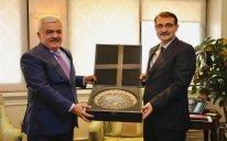 SOCAR prezidenti Türkiyənin energetika naziri ilə görüşüb