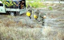 Topoqrafiya hərbi hissəsinin döyüş hazırlığı yoxlanıldı – FOTO