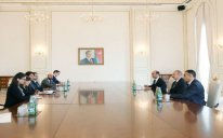 Prezident İtaliya Senatı sədrini qəbul edib – YENİLƏNİB
