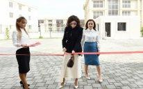 Mehriban Əliyeva xüsusi təhsil məktəbinin yeni binasının açılışında - FOTOLAR