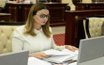 Qənirə Paşayeva 2019-cu il büdcə müzakirələri zamanı təkliflərlə çıxış edib