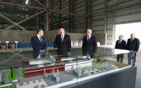 Sumqayıt Kimya Sənaye Parkında əlvan metallar və ferroərintilər zavodunun açılışı olub – FOTO