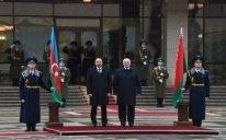 Azərbaycan Prezidentinin Minskdə rəsmi qarşılanma mərasimi olub – FOTOLAR