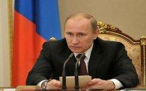 Rusiya Prezidenti ilk dəfə Kerçdəki insidentdən danışıb