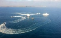 Rusiyanın Ukrayna gəmilərinə hücumunun görüntüləri yayıldı – VİDEO