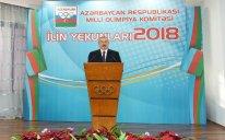 Prezident 2018-ci ilin idman yekunlarına həsr olunan mərasimdə – YENİLƏNİB/FOTOLAR