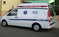 Şirvanda avtomobilin vurduğu piyada xəstəxanada ölüb