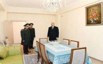 Prezident hərbçilərə yeni mənzillərin verilməsi mərasimində iştirak etdi – FOTO
