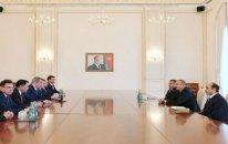 Prezident Rusiyanın Həştərxan vilayətinin nümayəndə heyətini qəbul edib – FOTO