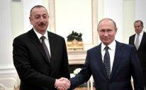 Vladimir Putin İlham Əliyevə telefonla zəng edib