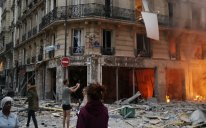 Parisdə güclü partlayış olub, ölən və yaralananlar var - VİDEO