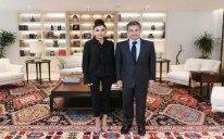Mehriban Əliyeva Fransanın sabiq dövlət başçısı Nikola Sarkozi ilə görüşüb – FOTO