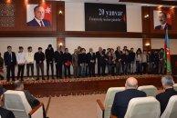 Nəsimi rayonunda 20 Yanvar hadisələrinin ildönümü ilə əlaqədar tədbir keçirildi – FOTOLAR
