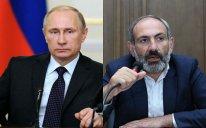 Vladimir Putinlə Nikol Paşinyan arasında telefon danışığı olub