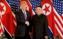 ABŞ Prezidenti ilə KXDR lideri arasında görüşü başa çatıb - FOTO - YENİLƏNİB