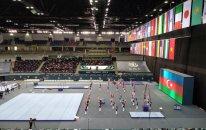 Bakıda idman gimnastikası üzrə Dünya Kubokunun açılış mərasimi keçirilib – FOTO