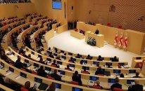 Gürcüstan parlamentində dava düşüb – VİDEO