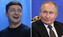 Kreml: Putin hələlik Vladimir Zelenskini təbrik etməyi planlaşdırımır