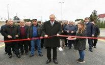 Prezident İlham Əliyev Mərdəkan-Qala avtomobil yolunun açılışında iştirak edib – FOTO