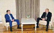 Prezident İlham Əliyev Rusiyanın Əmək və Sosial Müdafiə nazirini qəbul edib