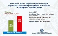 Pensiyaçılara ŞAD XƏBƏR