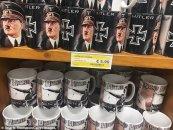 İtaliyada şüşəsi üzərində Hitlerin şəkili olan şərablar satılır