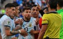 Messi üç ay müddətinə diskvalifikasiya olunub