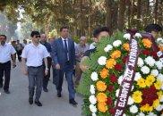 BAXCP Əbülfəz Elçibəyin məzarını ziyarət edib – FOTO