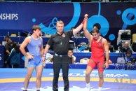 Azərbaycanın iki güləşçisi dünya çempionatında yarımfinala yüksəlib