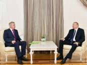İlham Əliyev Belarus Təhlükəsizlik Şurasının dövlət katibini qəbul edib