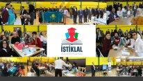"""İstanbulda Bayraq gününə həsr olunan """"İSTİQLAL"""" Beynəlxalq Bilik Yarışmasına start verildi –Gənclər Fondunun dəstəyi ilə - FOTOLAR"""