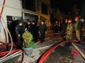 Xətai rayonunda baş vermiş yanğında xəsarət alan 11 nəfərdən 5-i uşaqdır