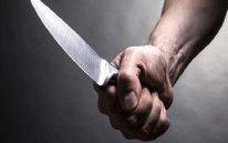Mingəçevirdə polis əməkdaşı bıçaqlanıb