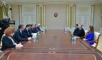 Prezident İlham Əliyev Bolqarıstanın Daxili İşlər nazirini qəbul edib