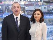Prezident və xanımı Mehriban Əliyeva Şamaxı rayonunda ağacəkmə aksiyasında iştirak ediblər