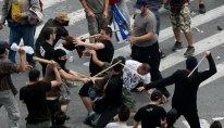 Yunanıstanda iğtişaşlarda iştirak etdiyi üçün 77 nəfər saxlanılıb