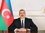 İlham Əliyev Ukraynanın Prezidenti Vladimir Zelenskiyə başsağlığı verib