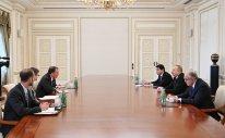 İlham Əliyev ABŞ Dövlət Departamentinin rəsmisini qəbul etdi