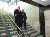 Prezident Bakıda yeraltı piyada keçidinin açılışında iştirak edib
