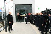 Prezident yol açılışında iştirak edib  – YENİLƏNİB/FOTOLAR