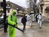 Nəsimi rayonu ərazisində profilaktik dezinfeksiyaedici tədbirlər davam etdirilir  - FOTO