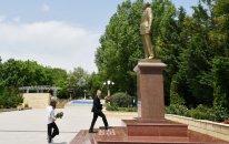 Prezident İlham Əliyev Şamaxı rayonunda səfərdədir