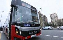 Bakıda ekspress avtobuslar yenidən fəaliyyətə başladı