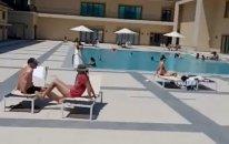 Bakıda daha bir məşhur hoteldə karantin qaydaları pozuldu  — VİDEO